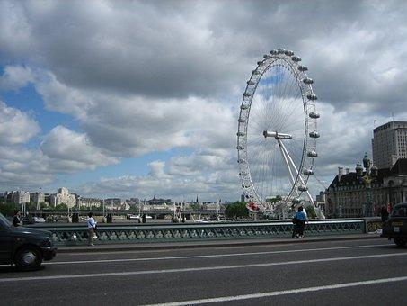 London Eye, England, London, Great Britain