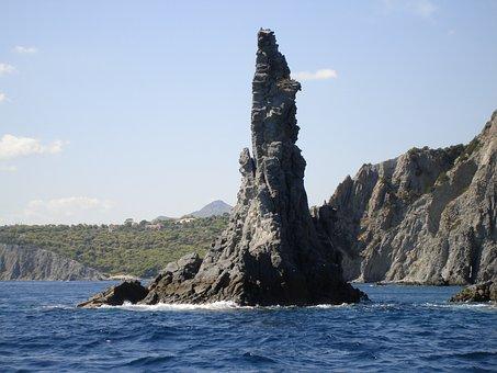 Rock Formation, Aegina Isle, Greece