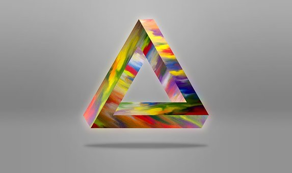Triangle, Abstract, Background, Wallpaper