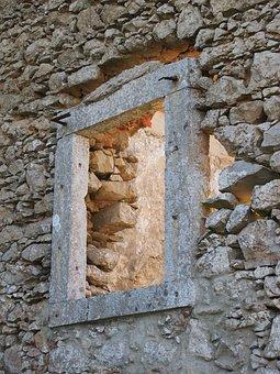 Window, Stone, Cabo Espichel