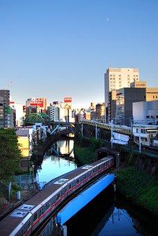 Ochanomizu, Electric Train, Akihabara, Tokyo