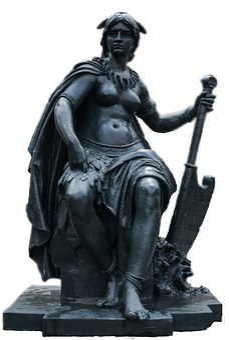 Paris, Statue, Art, Fig, Sculpture, Woman, Metal