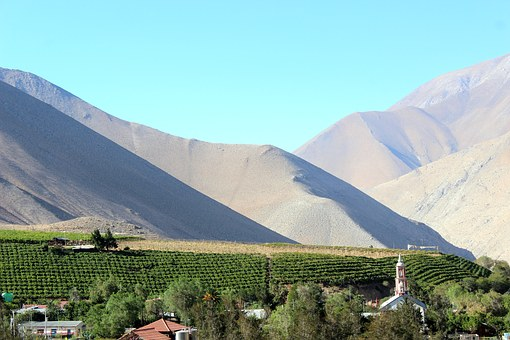 Mountain, Chile, Elqui, Mount, Large