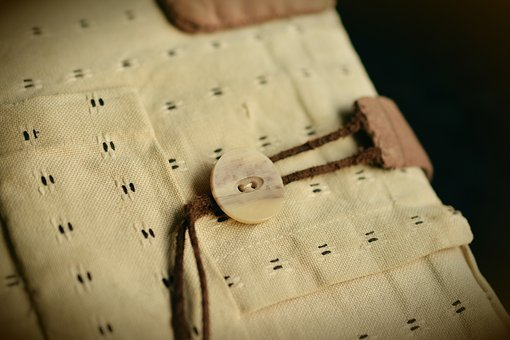 Button, Fabric, Cover, Book, Book Cover