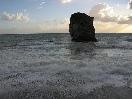 Scoglio, Sea, Beach, Guardia Piemontese, Calabria