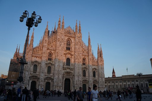 Milan, Cathedral, Church, City, Architecture, Italy