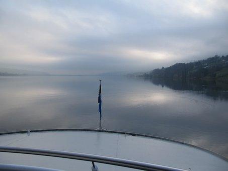 Fog, Lake Hallwil, Morning Mist
