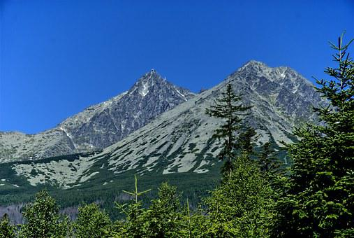 Tatry, Slovakia, Landscape, Top View, Mountains, View
