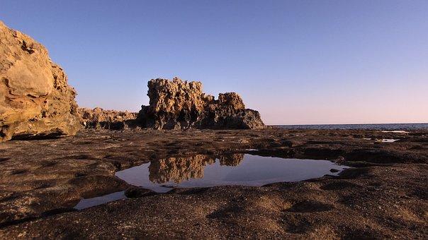 Rock, Water, Reflection, Nature, Stone, Landscape