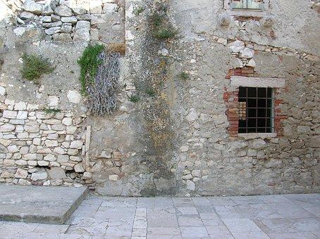Croatia, Susak Island, Ruin, Island, Old, Ancient