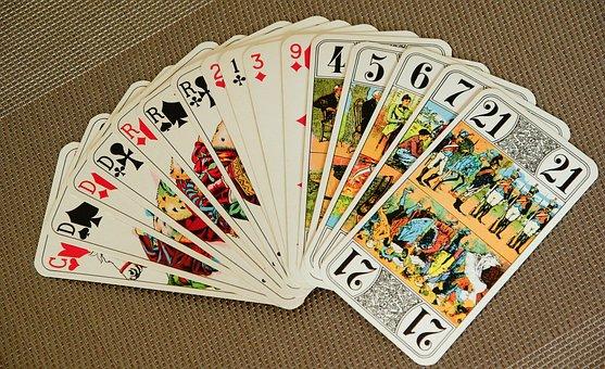 Playing Cards, Tarot, Game, Player