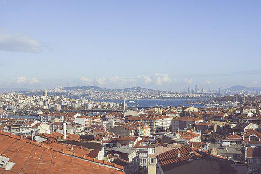 Istanbul, Roofs, Turkey, Throat, Cami, Townscape, Scene