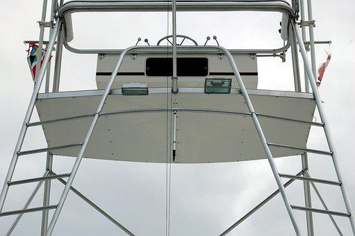 Charter Boat, Fishing Boat, Flying Bridge, Fishing