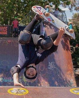 Skateboarding, Skate, Skateboard, Extreme, Skateboarder
