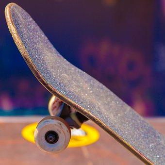 Skateboard, Wheels, Ramp, Skate, Sport, Board