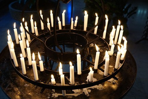 Candles, Light, Church
