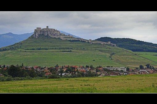 Castle, Unesco, Large, Big, Slovakia, Heritage