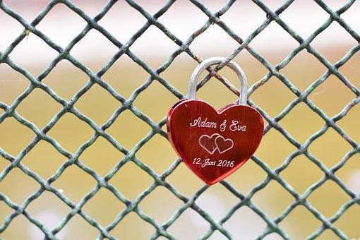 Heart, Castle, Adam And Eve, Adam, Eva, Adam Eva, Love