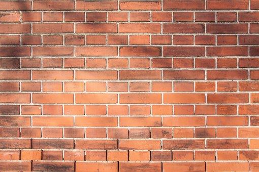 Wall, Brick, Hard, Red, Brown, Bricked, Fund