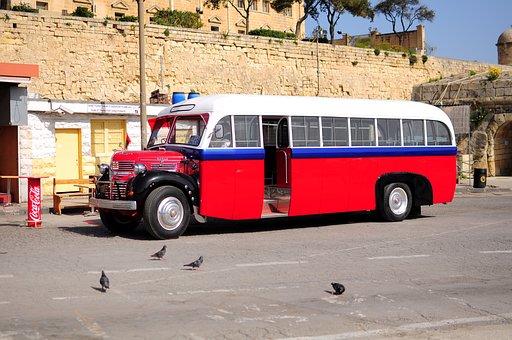 Malta, Bus, Vintage