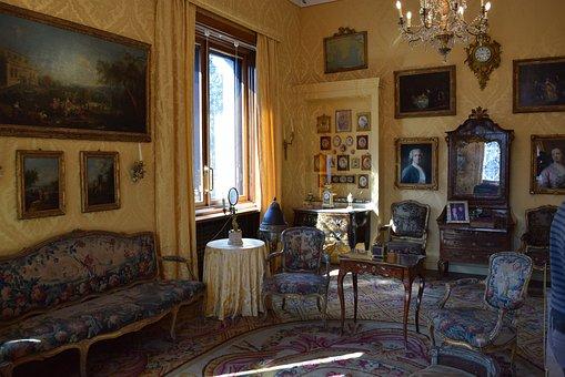 Villa, Museum, Necchi Campiglio, Milan, Italy