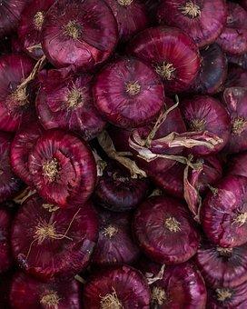 Onion, Red Onion, Crimean Onion, Vegetables, Market