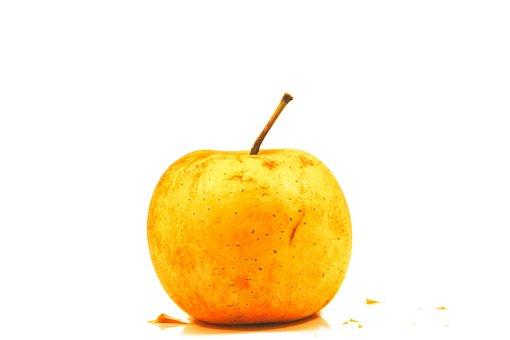 Apple, Fruit, Yellow, Power, Flavor, Food, Eat, Dessert