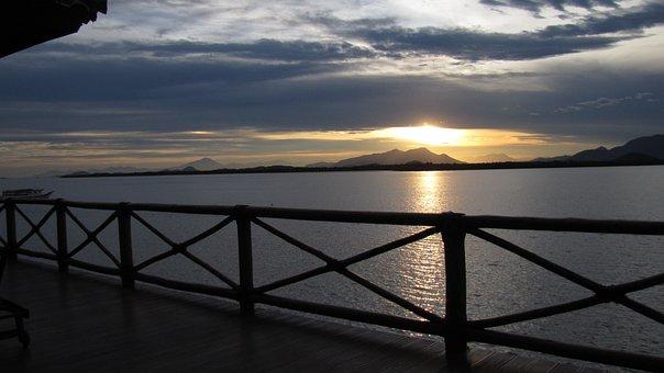 Sunset, Guaraqueçaba, Beach, Mar