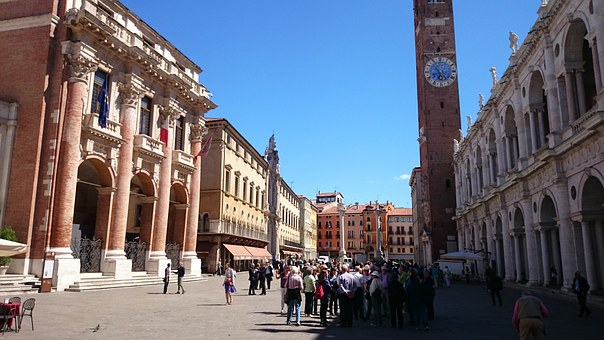Italy, Vicenza, Medieval, Historic, Town