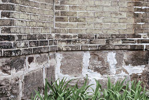 Backdrop, Wall, Brick, Stone, Brown, Gray, Grey