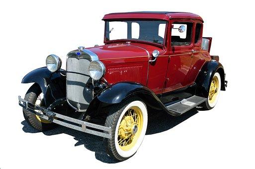 Vintage Car, Antique, Old, Retro, Restored, Collector