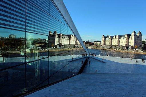 Oslo, Opera House, Opera, Architecture, Norway