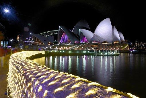 Sydney, Sydney Opera House, Australia, City, Landmark