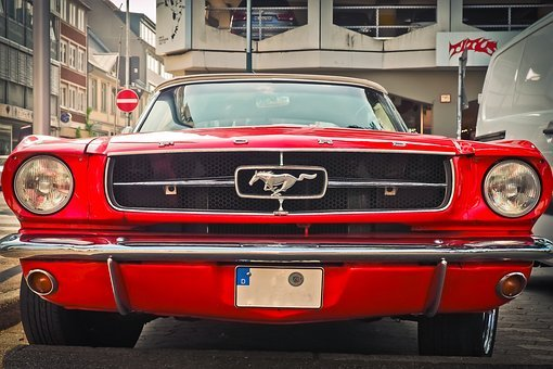 Auto, Ford, Oldtimer, Automotive, Vehicle, Mustang