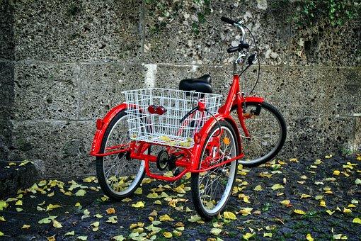 Tricycle, Bike, Wheel, Nostalgia, Retro, Rickshaw