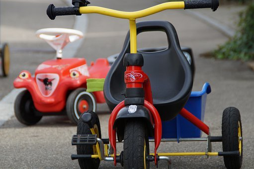 Children's Vehicles, Vehicles, Bobby Car, Tricycle