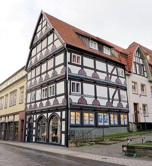 Fachwerkhaus, Home, Truss, Old Town, Building