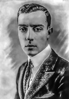 Buster Keaton - Male, Portrait, Hollywood, Director