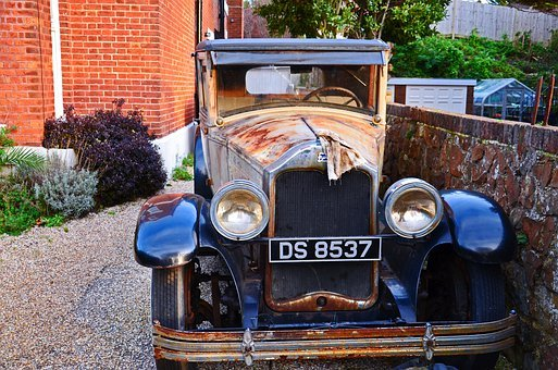 Old, Fashioned, Car, Cars, Transportation, Classic