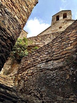 Pierre, Castle, Ruin, France, Stone Wall