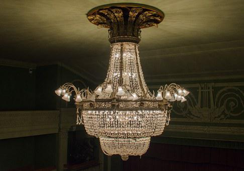Chandelier, Ceiling, Headlamps, Ceiling Luminaire