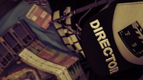 Cap, Director, Child, Map, Observe, Fun