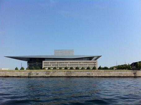 Royal Swedish Opera, Opera House, Copenhagen, Denmark
