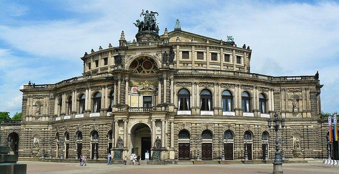 Dresden, Opera House, Semper Opera House, City