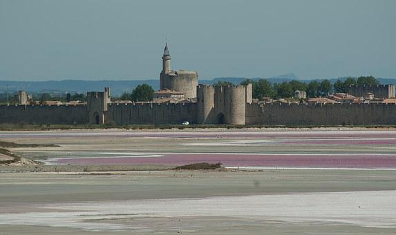 France, Acute Dead, Ramparts, Wall, Salt, Saline