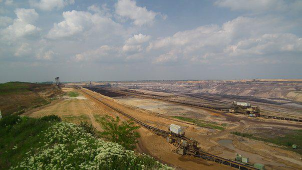 Garzweiler, Open Pit Mining, Bucket Wheel Excavators