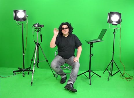 Greenbox, Director, Instruction, Very, Gut, Movie Set