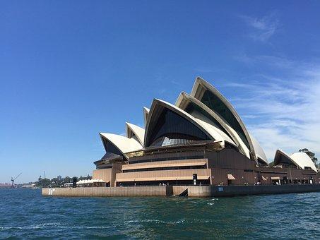 Opera House, Sydney, Australia, Landmark, Harbour