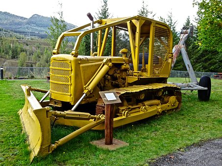 Grader, Tractor, Machine, Equipment, Heavy