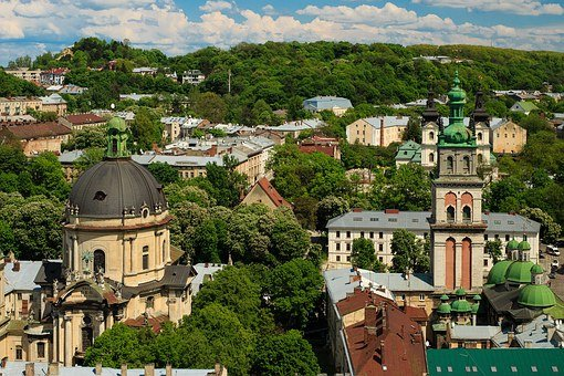 Lviv, Ukraine, Unesco, Sights, History, Culture, Statue